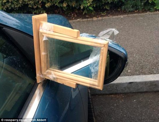 Side Mirror Repair >> Five Laugh Worthy Diy Side Mirror Fails Smiley S Glass